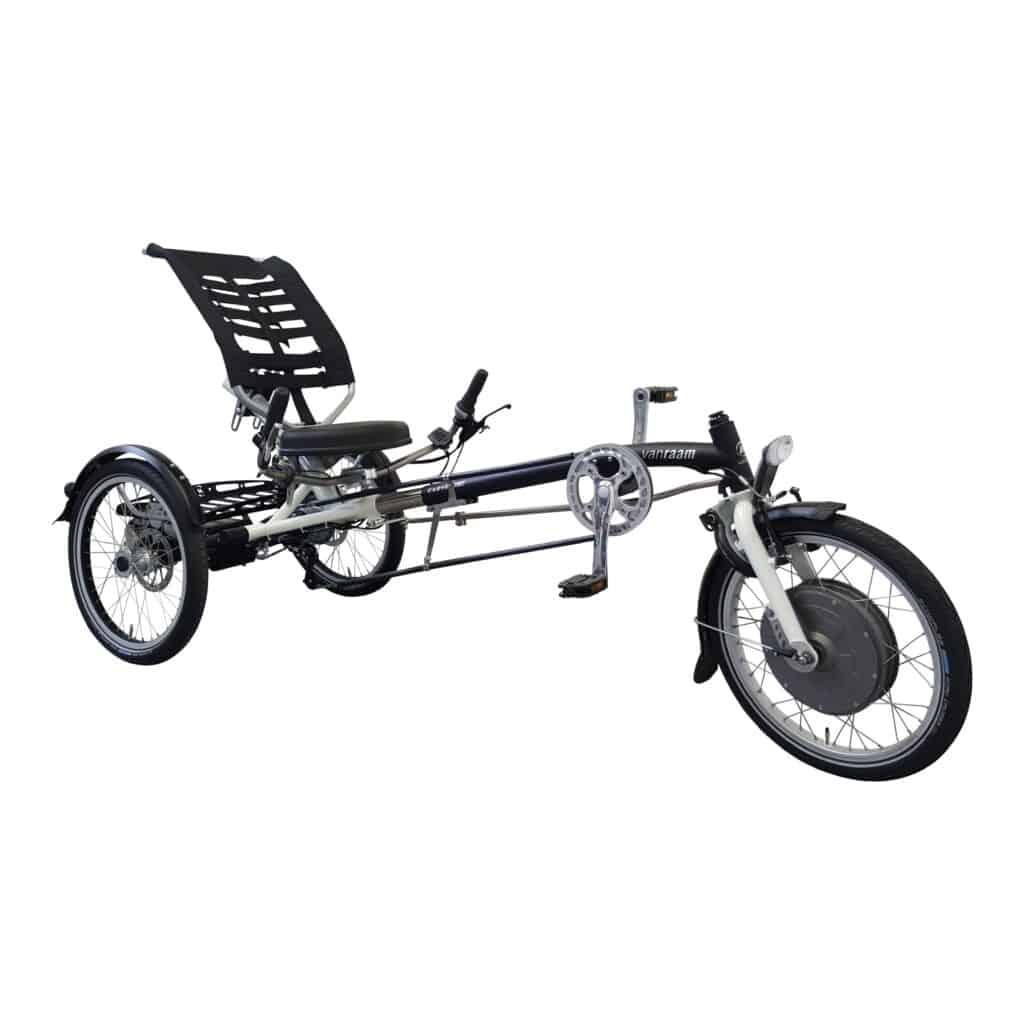 Easy Sport driewielf ligfiets met Silent HT VR2F trapondersteuning