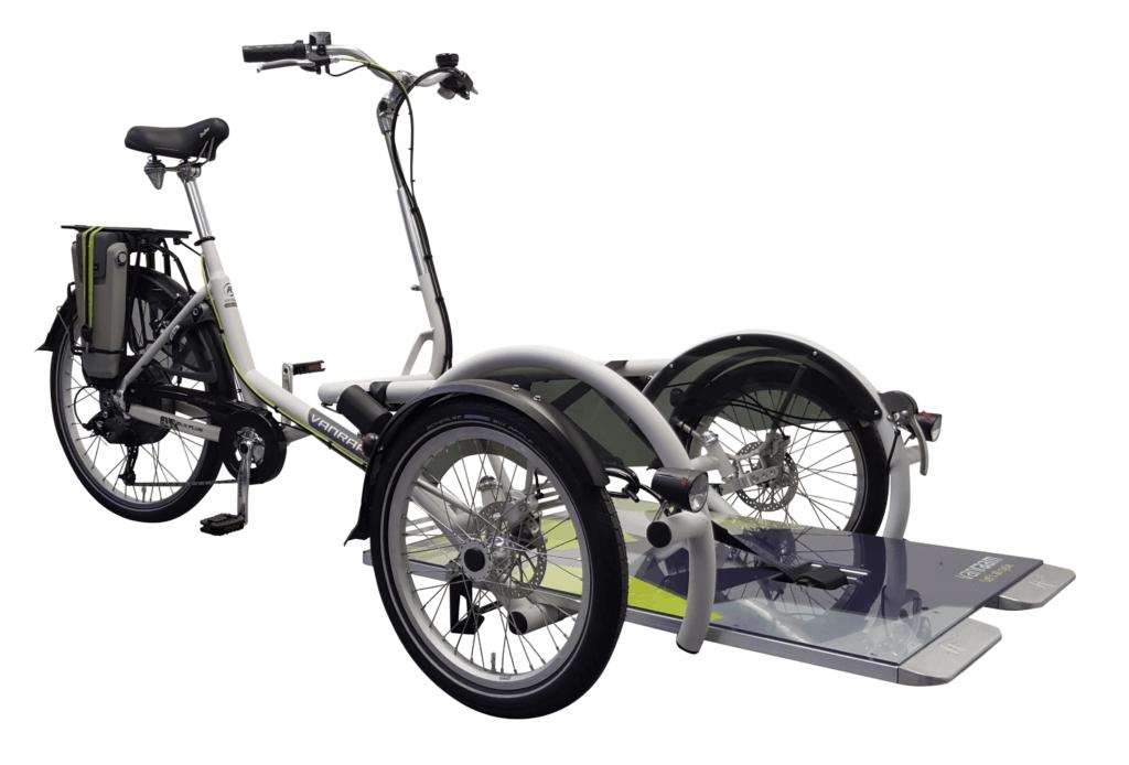 Velo-Plus rolstoelfiets met trapondersteuning