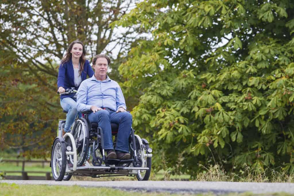 VeloPlus rolstoeltransportfiets